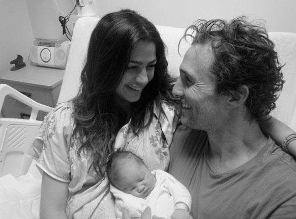 Photo of Matthew McConaughey's baby girl!