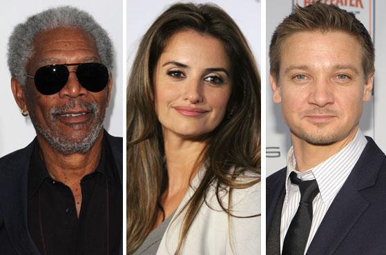 Morgan Freeman and stars react to Oscar nominations