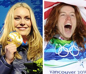 lindsey vonn shaun white olympics