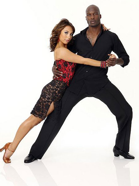Dancing with the Stars Chad Ochocinco and Cheryl Burke
