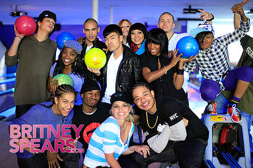britney spears bowling