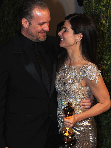 Sandra Bullock and Jesse James