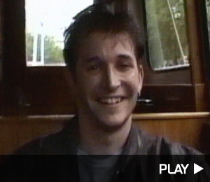 Noah Wyle In Amsterdam