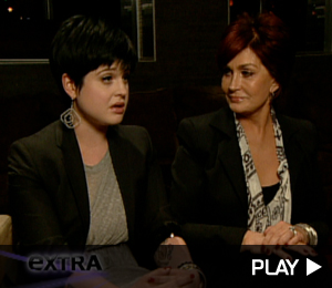 Kelly And Sharon Osbourne Talk About Work