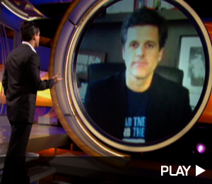 Mario Lopez Video Chats With Tim Shriver