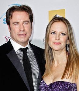 John Travolta and Kelly Preston's grieving process