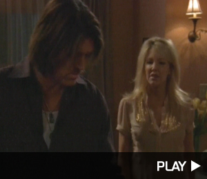 Billy Ray Cyrus and Heather Locklear have a heated conversation in