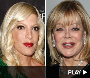 Tori Spelling talking about her feud with mom Candy Spelling