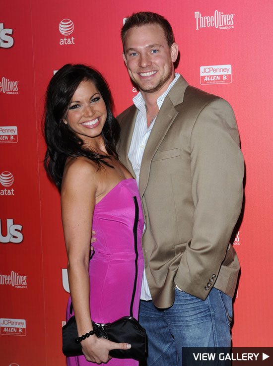 melissa rycroft and boyfriend ty strickland at the us weekly hot hollywood party