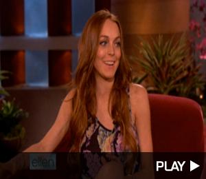 Lindsay Lohan on 'Ellen'