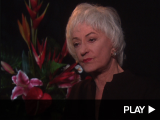 Bea Arthur talks about her favorite moments from 'Golden Girls'