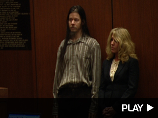 Robert Michael O'Ryan in court for a preliminary hearing