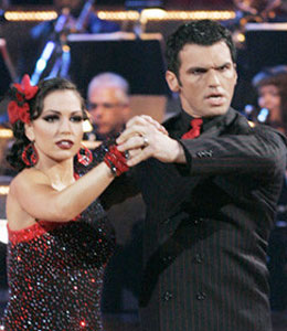 Melissa Rycroft and Tony Dovolani on Dancing with the Stars