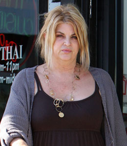 Kirstie Alley weight battle