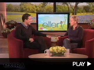 Ellen Degeneres with Mario Lopez