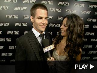 Chris Pine at 'Star Trek' Premiere