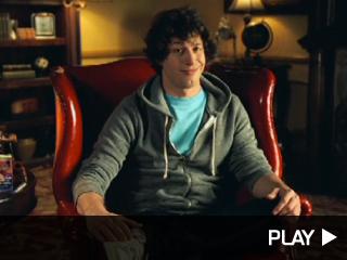 Andy Samberg's MTV Movie Awards promo