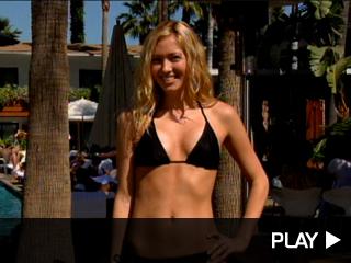 Tami Ferrell posing in a bikini
