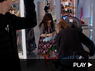 Behind the scenes on 'Ugly Betty'