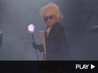 Lady Gaga onstage at Wango Tango