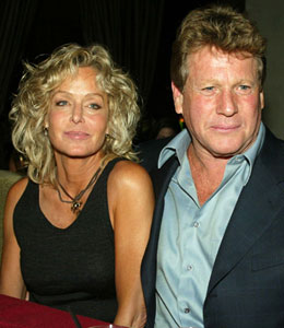 ryan o'neal on farrah fawcett