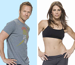 Biggest Loser trainers Bob Harper and Jillian Michaels