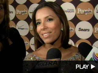 Eva Longoria Parker at People en Espanol party in NYC.