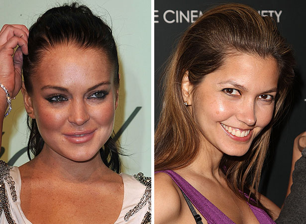 Lindsay Lohan and Indrani