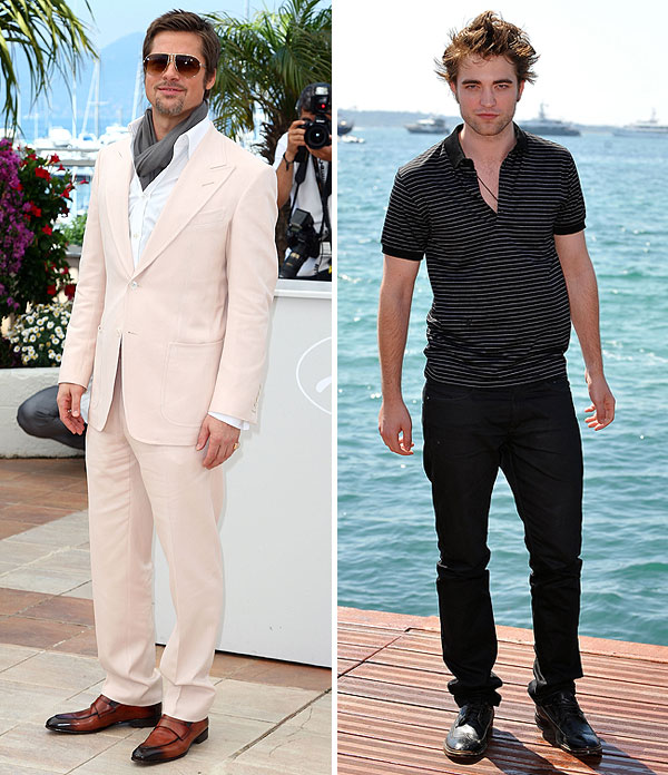 brad pitt vs. robert pattinson who is hotter?