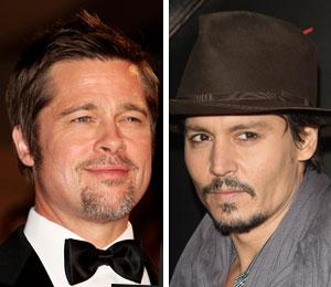 Brad Pitt and Johnny Depp go head to head at the box office