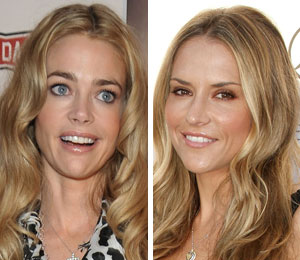 Brooke Mueller and Denise Richards make nice
