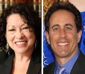 sonia sotomayor's connection with seinfeld