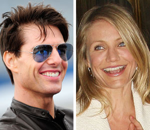 tom cruise filming with cameron diaz