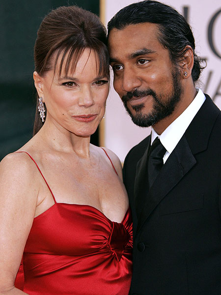naveen andrews and barbara hershey