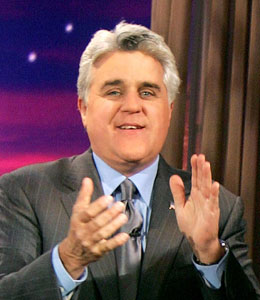 Jay Leno leaves the Tonight Show