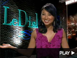 LeDish host Jeannie Mai discussing Adam Lambert