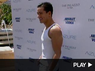Mario Lopez in Las Vegas