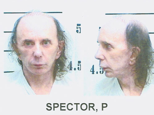 phil spector's mugshot released