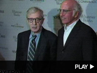 Woody Allen and Larry David