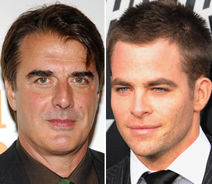 Chris Noth and Chris Pine share the stage in Farragut North