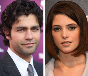 Adrian Grenier and Ashley Greene are not dating