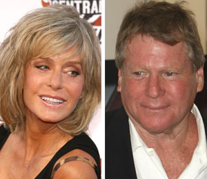 ryan o'neal and farrah fawcett didn't marry