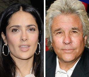 Salma Hayek denies an affair with Jon Peters
