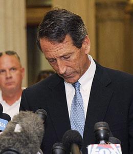 should mark sanford resign?