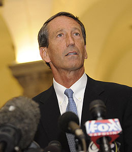 mark sanford admits to affair