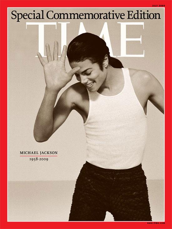 TIME magazine commemorates Michael Jackson