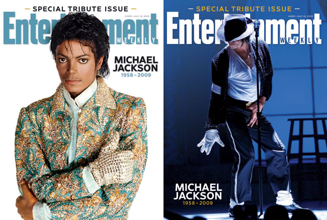 entertainment weekly honors michael jackson