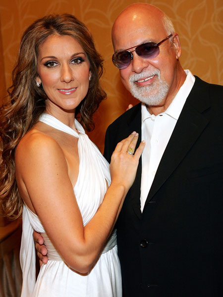 celine dion and René Angelil