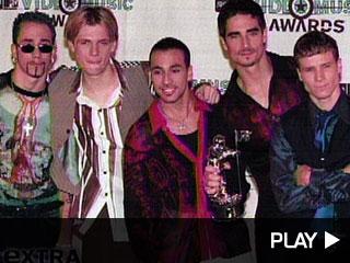 Backstreet Boys Nick, Howie, Brian and A.J.