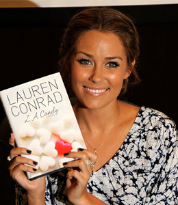 Lauren Conrad's book is on the New York Times Best Seller list